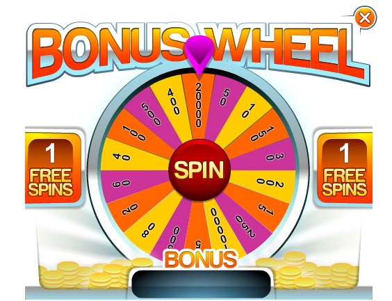 Bingo bonus Wheel