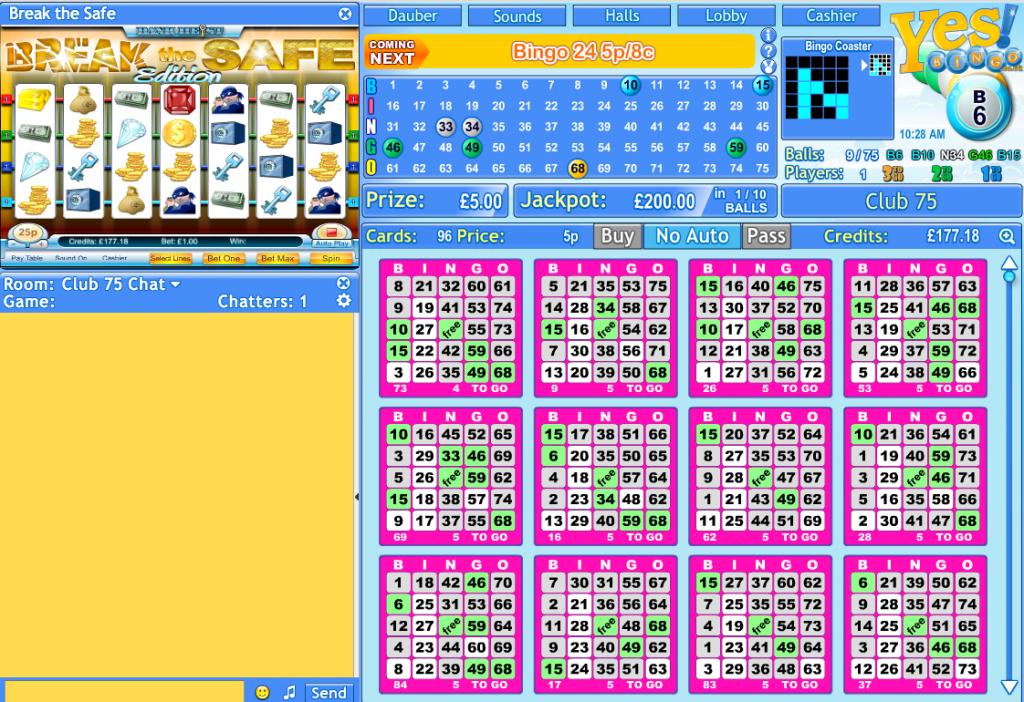 bingo games online to
